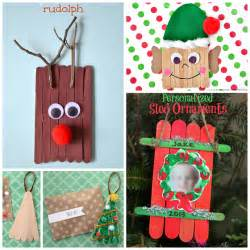 christmas popsicle stick crafts for kids to make crafty