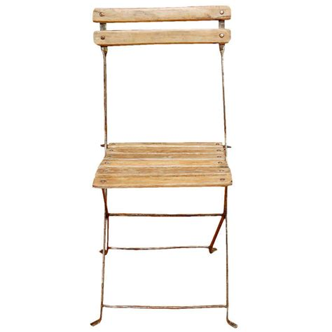 Wooden Slat Chairs by Garden Chair With Wooden Slats At 1stdibs