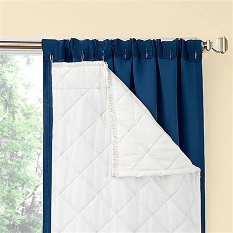 window curtain liners season smart window curtain insulating liner pair bed