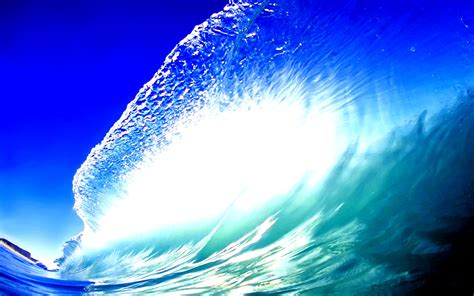 wallpaper blue wave blue wave wallpapers pictures images
