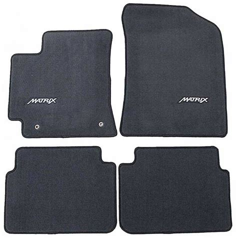 Toyota Matrix Floor Mats For Sale by New 2009 2013 Toyota Matrix Carpeted Floor Mats From
