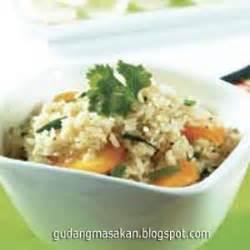 resep masakan nasi goreng ebi gudang resep masakan