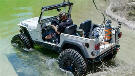 Diesel Powered Jeep by Diesel Jeep Drives 12 Underwater Dirt Every Day Ep