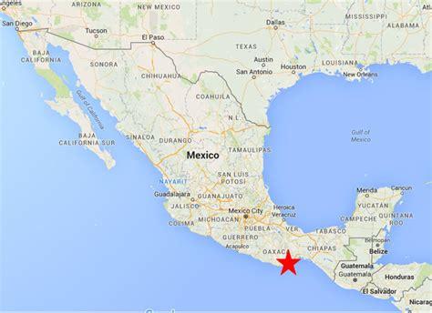 map of mexico oaxaca huatulco oaxaca on the road in mexico