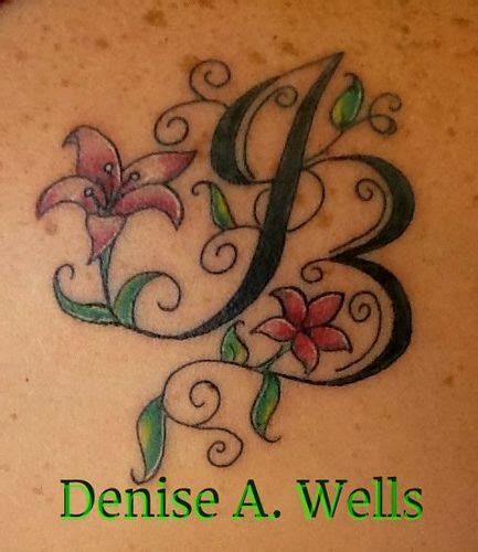 lily swirl tattoo designs jb design inked design by a