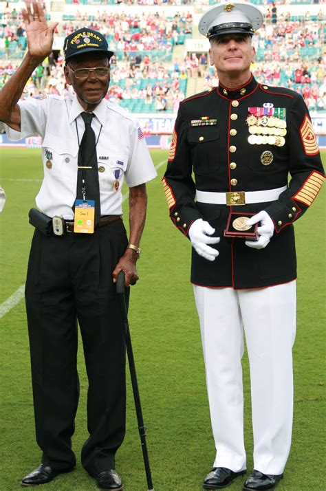 Most Decorated Enlisted Marine by Defense Gov News Article Battaglia Honors Decorated World