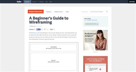 A Beginner S Guide To Wireframing | 15 essential tools and resources to create great
