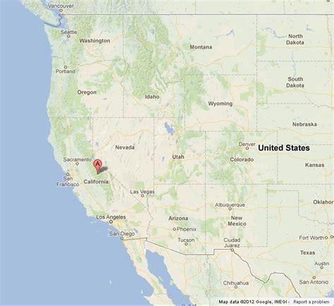 map usa yosemite yosemite national park on us west coast map world easy