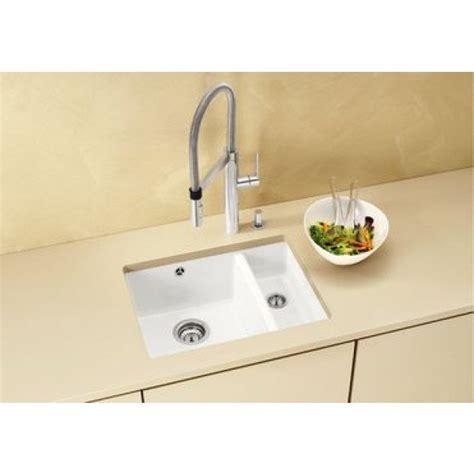 Ceramic Undermount Sink by Blanco Subline 350 150 U Ceramic Undermount Sink White