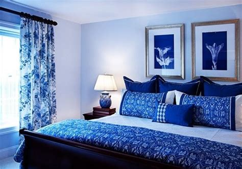Bedroom Design Ideas Blue And White Impressive White And Blue Bedroom Decorating Ideas