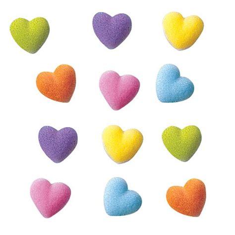 lucks decorating lucks rainbow heart charms sugar decorations
