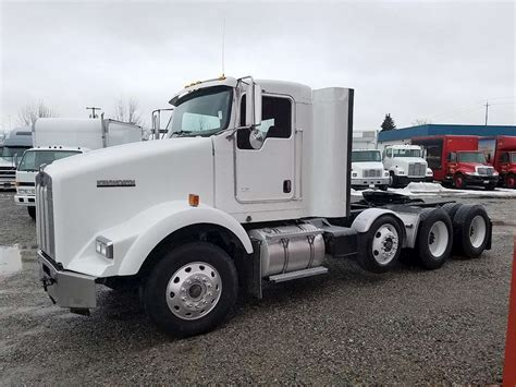 kenworth truck cab 2005 kenworth t800 day cab truck for sale 545 410 miles