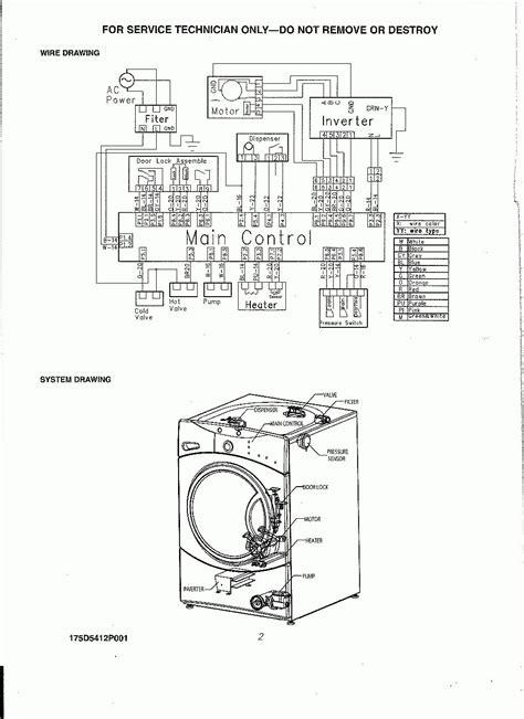 ge washer diagram ge washing machine schematic ge free engine image for