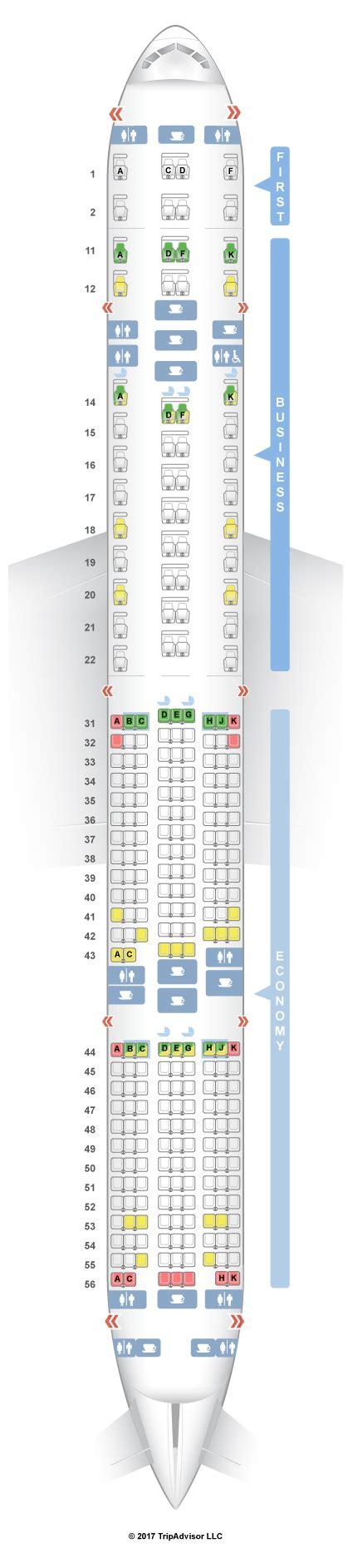 tree seating plan seating plan for boeing 777 300er jet brokeasshome