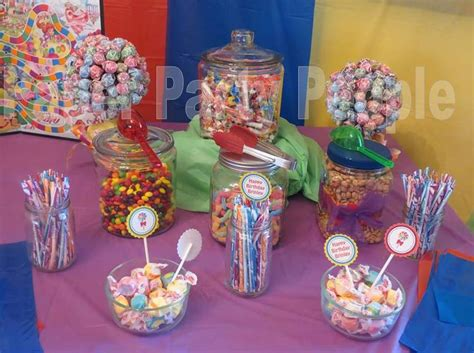 themed birthday parties candy theme birthday party the paper party people