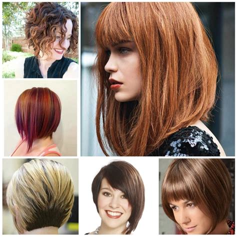 long hair in the front shorter on the sides bob haircuts short in back long in front a selection of