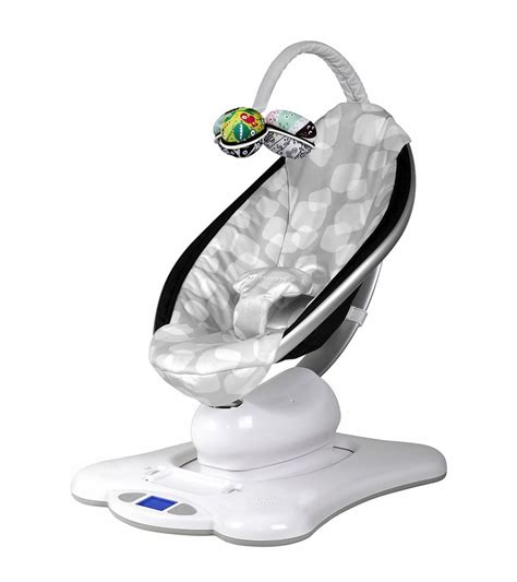 cool baby swings 4moms mamaroo silver plush