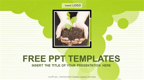 free environmental powerpoint templates environmental conservation nature ppt templates