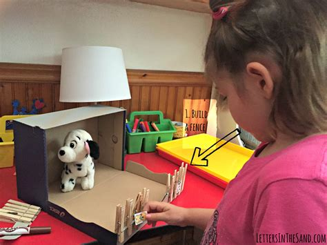 How To Make A Shoe Box Out Of Paper - animal house shoebox craft letters in the sand