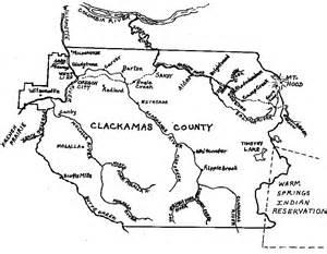 clackamas county oregon map 98map