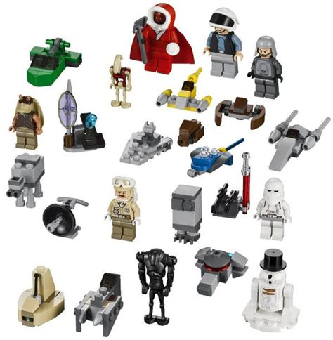 Calendrier De L Avent Lego Wars 2012 Le Calendrier De L Avent Lego Wars De 2012 Est L 224