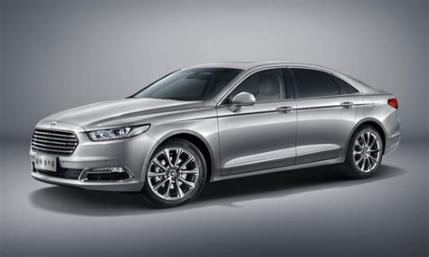2016 ford taurus all new 2016 ford taurus lands in china looking more