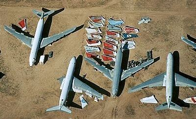 continental divide the destroyer volume 152 books airphoto aerial photograph of boeing scrap tucson