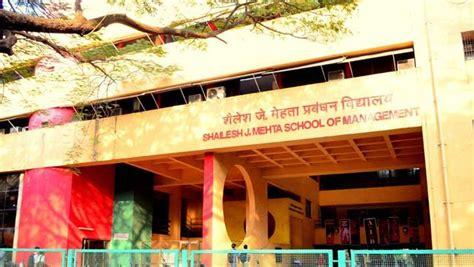 Iit Bombay Mba Fee Structure by Shailesh J Mehta School Of Management Sjmsm Iit Bombay