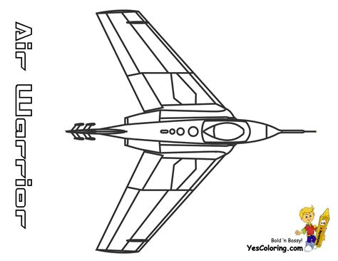 army fighter jets colouring pages
