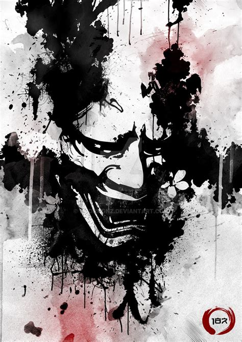 hannya ink by 187designz on deviantart