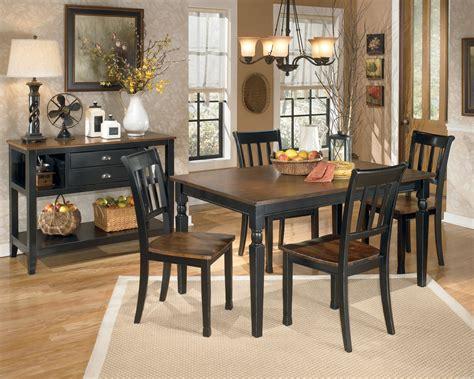 ashley dining room set owingsville rectangular dining room set from ashley d580