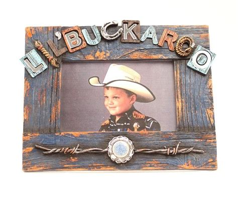 western moments home decor western moments lil buckaroo frame horseloverz