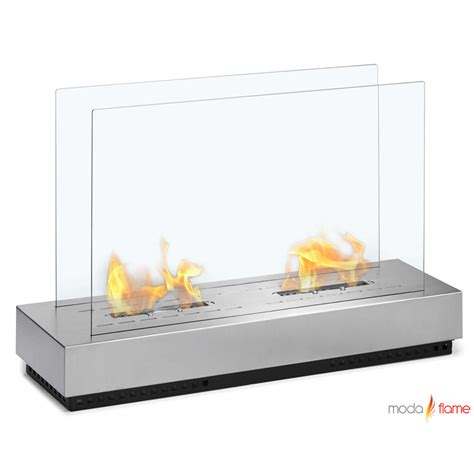 Ethanol Freestanding Fireplace by Moda Braga Free Standing Floor Indoor Outdoor Ethanol Fireplace