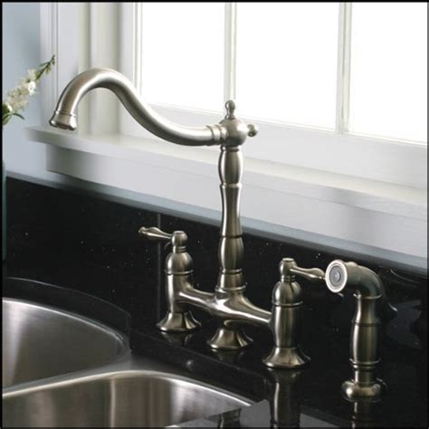 kitchen faucet brushed nickel kitchen design photos
