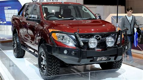 mazda truck 2016 mazda and isuzu to collaborate on a truck