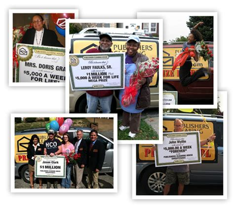 publishers clearing house winners list publishers clearing house winner share the knownledge