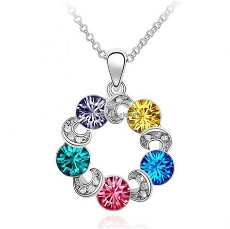 Austrian Necklace austrian pendant necklace display wholesale