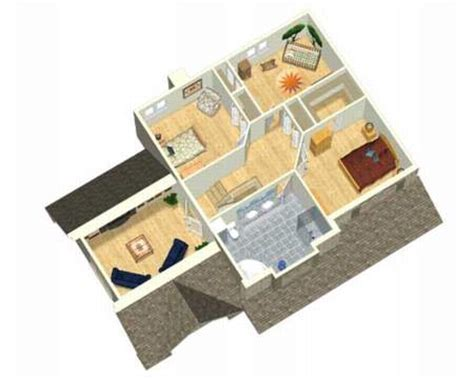3d Two Story House Plans House Design Plans 2 Story House Plan 3d
