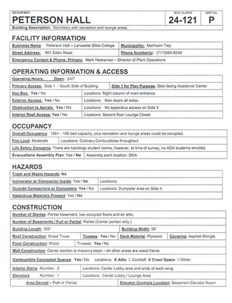 department pre plan template pre plan template plan template