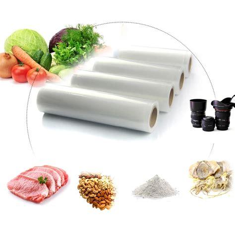 Best Fresh Food Wrap 20 Cm X 500 M 8 quot x16 20x500cm vacuum food bag roll for kitchen vacuum fresh storage bags in saran wrap