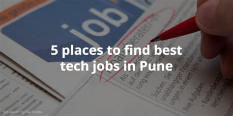best place to find a new job 5 places to find the best tech jobs in pune cutshort
