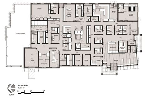 rehabilitation center floor plan a veterinary hospital designed for and by the practice team