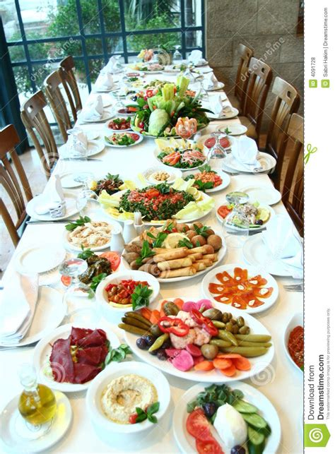 table of food royalty free stock photos image 4091728