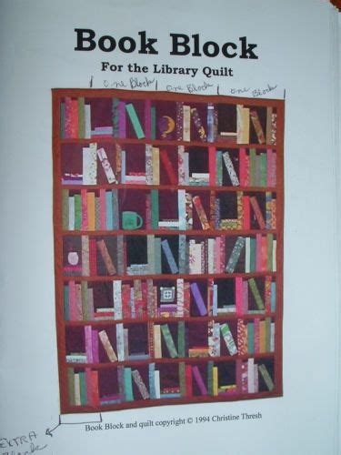 quilt pattern library books book block for the library quilt pattern by christine