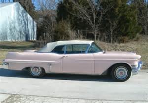 1957 Pink Cadillac 1957 Cadillac Convertible Pink Series 62 19541955 1956