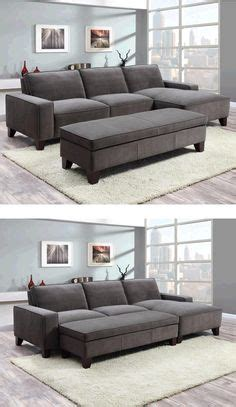 orion fabric chaise sectional with ottoman decor couch comfy chair hunting on pinterest curved
