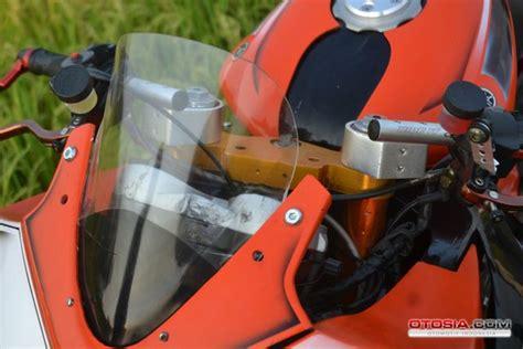 Knalpot Custom 011 moadifikasi motor vixion ala superbike harian lung