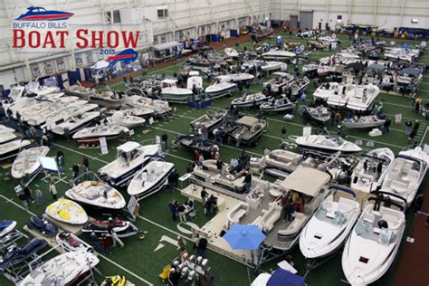 boat show in buffalo ny 2013 buffalo bills boat show at buffalo bills fieldhouse