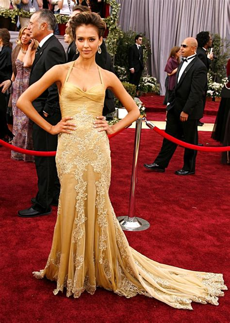 Oscars Carpet Alba by Alba Oscars Best Dresses Of All Time Us Weekly