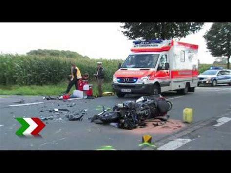 T Dlicher Motorradunfall A5 by T 246 Dlicher Unfall Auf Der A43 Funnydog Tv